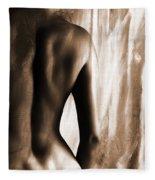 Nude 028r Fleece Blanket
