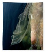 Damselfly Fleece Blanket