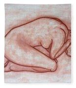 Nude 19 Fleece Blanket