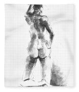 Nude 44 Fleece Blanket
