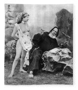 Nude And Monk, C1895 Fleece Blanket