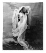 Nude, C1900 Fleece Blanket
