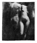 Nude Couple, 1910 Fleece Blanket