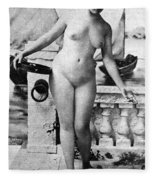 Nude In Venice, 1902 Fleece Blanket