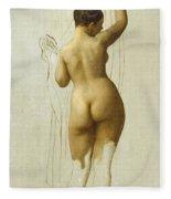 Nude. Queen Rodophe Fleece Blanket