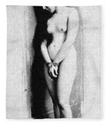 Nude Slave, 1901 Fleece Blanket