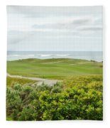 Number 1 From The Whites At Spanish Bay Fleece Blanket