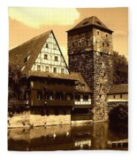 Nuremberg Fleece Blanket