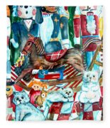 Nutcracker Suite Fleece Blanket