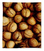 Nuts Fleece Blanket