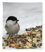 Nuts Said The Willow Fleece Blanket