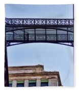 Ny Architecture Connection  Fleece Blanket