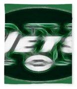 Ny Jets Fantasy Fleece Blanket