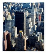 Nyc 2 Fleece Blanket