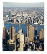 Nyc 6 Fleece Blanket