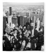 Nyc Bw Fleece Blanket