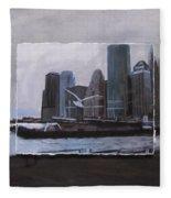 Nyc Pier 11 Layered Fleece Blanket