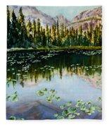 Nymph Lake Fleece Blanket