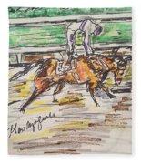 Nyquist Kentucky Derby 2016 Fleece Blanket