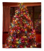 O Christmast Tree Fleece Blanket