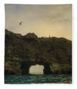 O Mighty Rock... Fleece Blanket