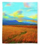 O Prairie Mother Fleece Blanket