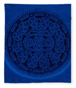 O R E O In Blue Fleece Blanket