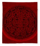O R E O In Red Fleece Blanket