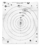 O. Von Guerickes Solar System, 17th Fleece Blanket