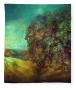 Oak Art Fleece Blanket