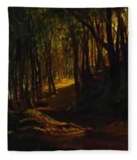 Oak Grove At San Terenzo Fleece Blanket