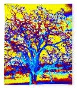 Oak Tree Fleece Blanket