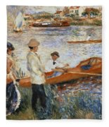 Oarsmen At Chatou Painting By Pierre Auguste Renoir