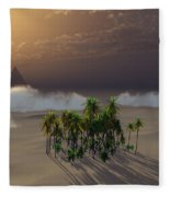 Oasis Fleece Blanket