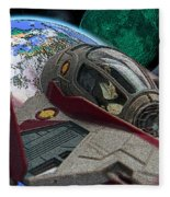 10108 Obi-wan's Starfighter Fleece Blanket