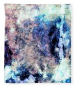 Obscured By Clouds Fleece Blanket