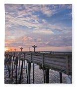 Obx Sunrise Fleece Blanket