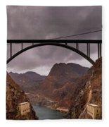 O'callaghan-pat Tillman Memorial Bridge Fleece Blanket