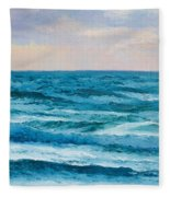 Ocean Art 2 Fleece Blanket