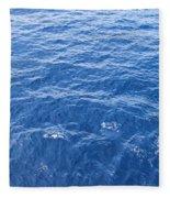 Ocean Blue Fleece Blanket