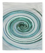 Ocean Blue Whip Fleece Blanket