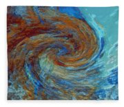 Ocean Colors Fleece Blanket
