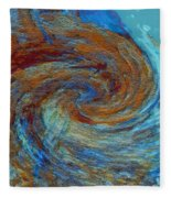 Ocean Colors Fleece Blanket