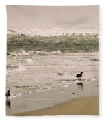 Ocean Edge Fleece Blanket