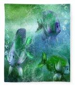 Ocean Fantasy 4 Fleece Blanket