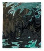 Ocean Fury Fleece Blanket