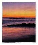 Ocean In Motion Fleece Blanket