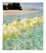 Ocean Lei Fleece Blanket