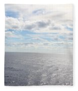 Ocean Peace  Fleece Blanket