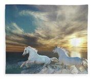 Ocean Play Fleece Blanket